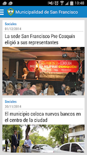 Municipalidad de San Francisco- screenshot thumbnail