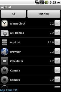 App List Task Manager