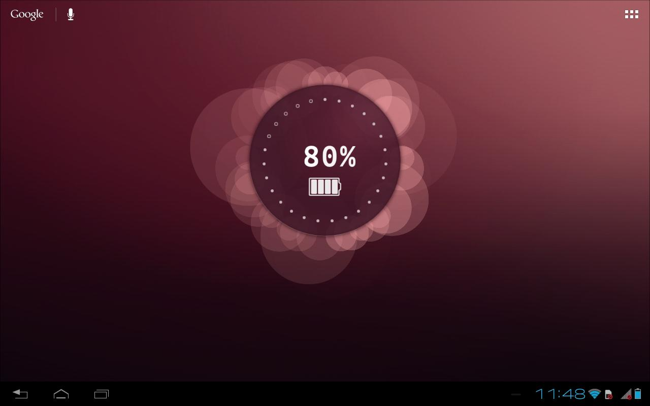 Ubuntu Live Wallpaper Beta - screenshot