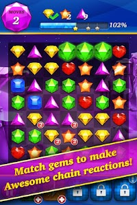 Gem Mania:Diamond Match Puzzle v1.2.4 (Mod Money)