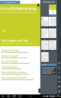 Screenshot of OrganisationsEntwicklung