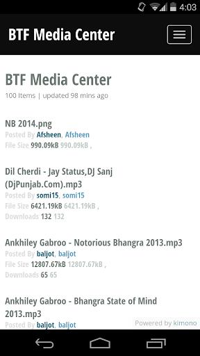 BTF Media Center