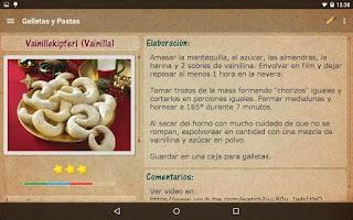 Screenshot of My Cookery Book