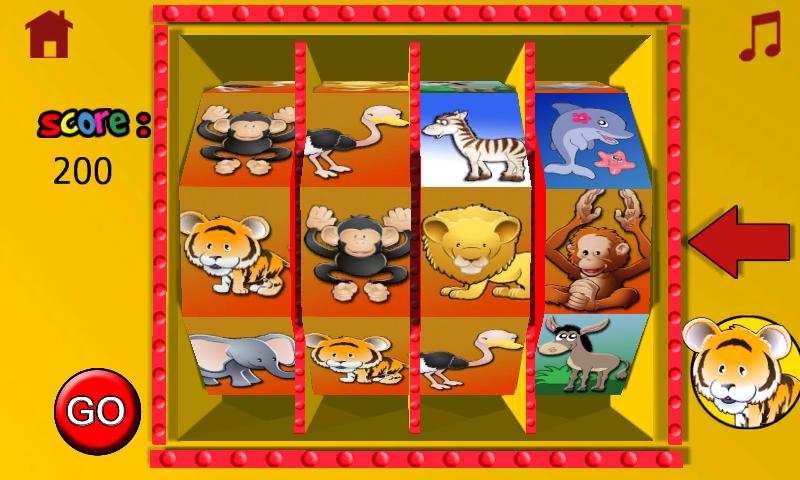 jungle casino for children- screenshot