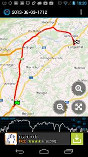 Ulysse Speedometer Screenshot 4