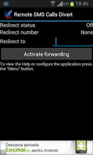 SMS Call Forward / Divert- screenshot thumbnail