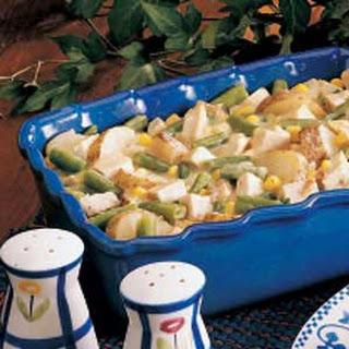 Chicken Veggie Casserole