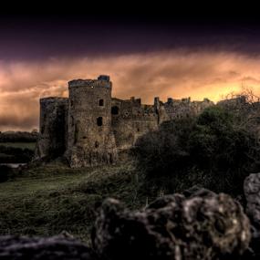 Carew Castle by Simon Eastop - Buildings & Architecture Public & Historical