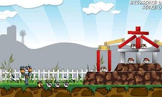 Screenshot of Angry Farm - Free Game