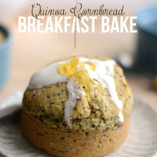 Quinoa Cornbread Breakfast Bakes