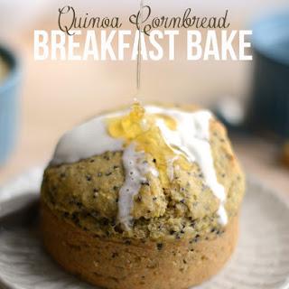 Quinoa Cornbread Breakfast Bakes.