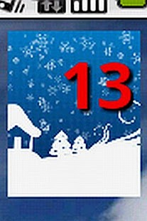 Holiday Countdown Widget- screenshot thumbnail