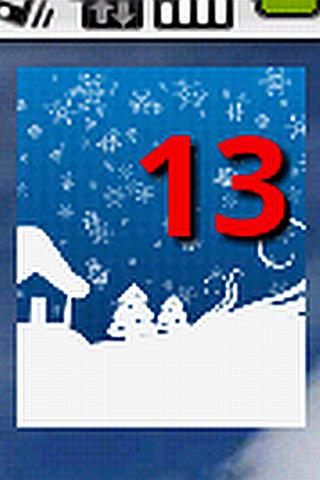 Holiday Countdown Widget - screenshot