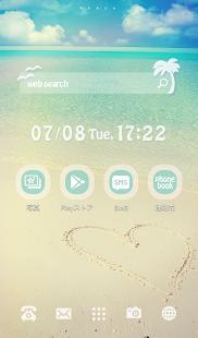 可愛換裝桌布★Beautiful beach