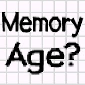 Memory Age Analyzer