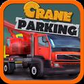 Construction Crane parking 3D icon