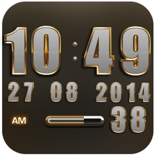Digi Clock Widget Odinson app for Android