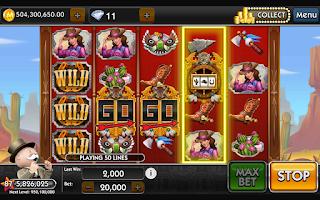 Screenshot of MONOPOLY  Slots