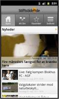 Screenshot of Stiften