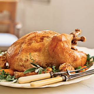 Roast Turkey with Truffle Gravy