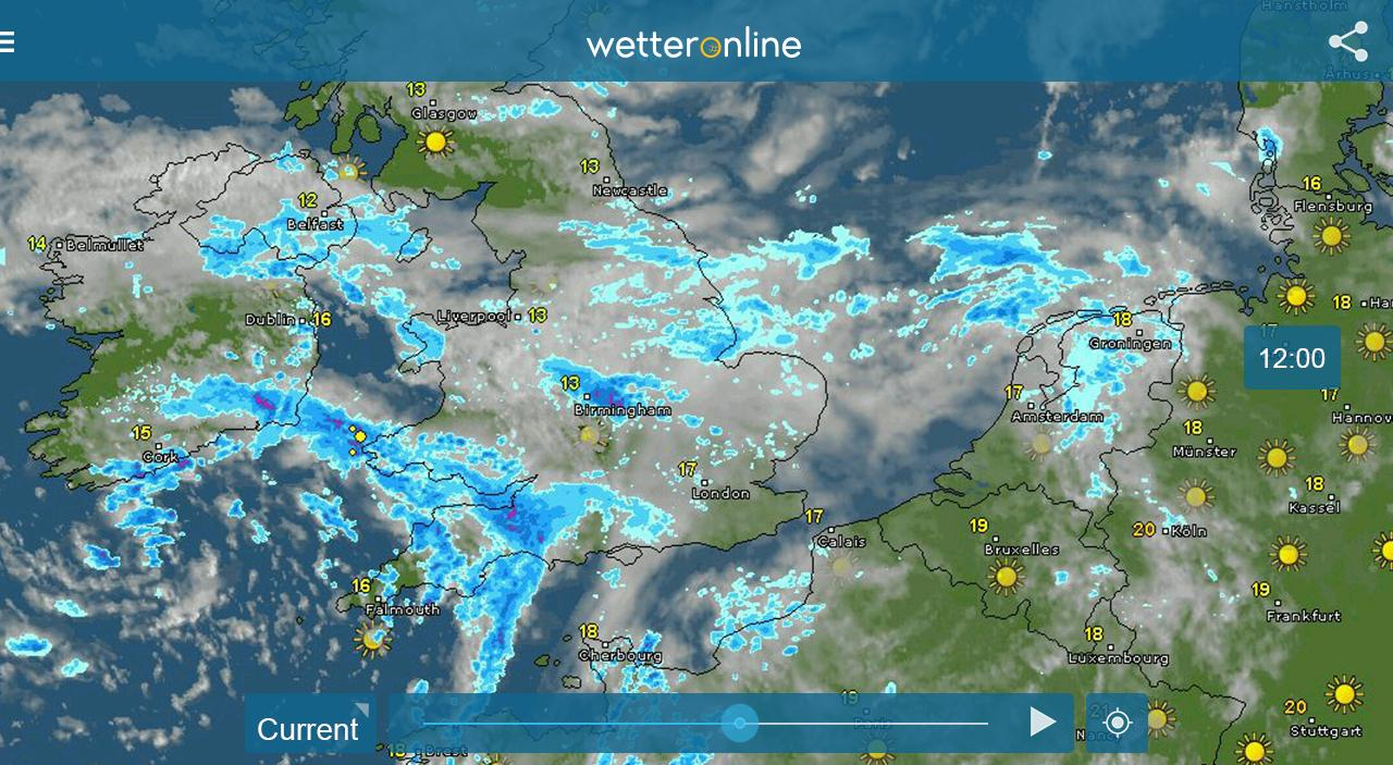 WeatherRadar Live Weather Google Play Store Revenue Download - World weather map live
