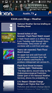 KXAN Weather- screenshot thumbnail