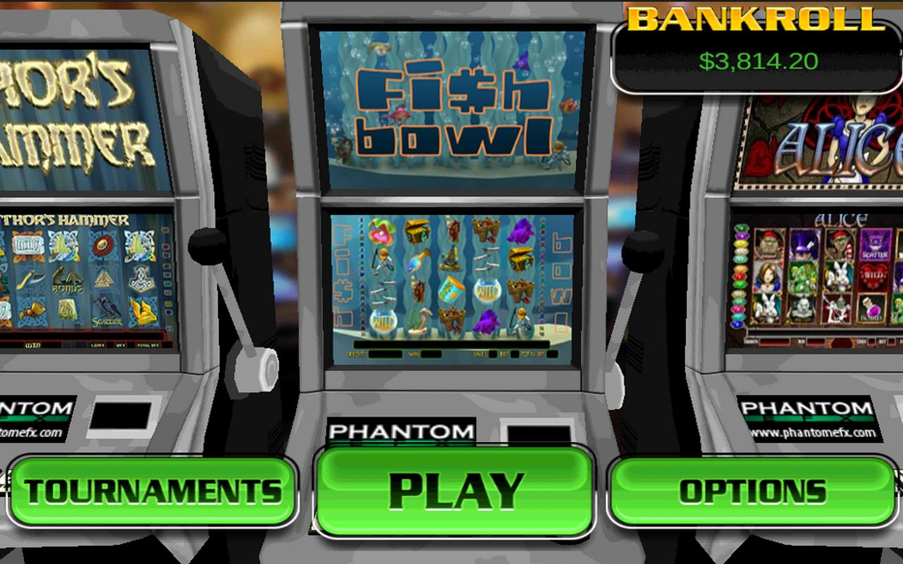 Fish Bowl HD Slot Machine - screenshot