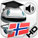Norwegian Verbs HD LearnBots icon