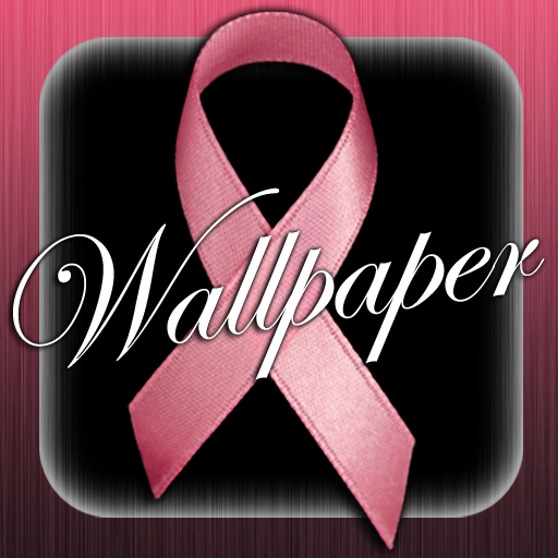 Pink Ribbon Wallpaper! LOGO-APP點子