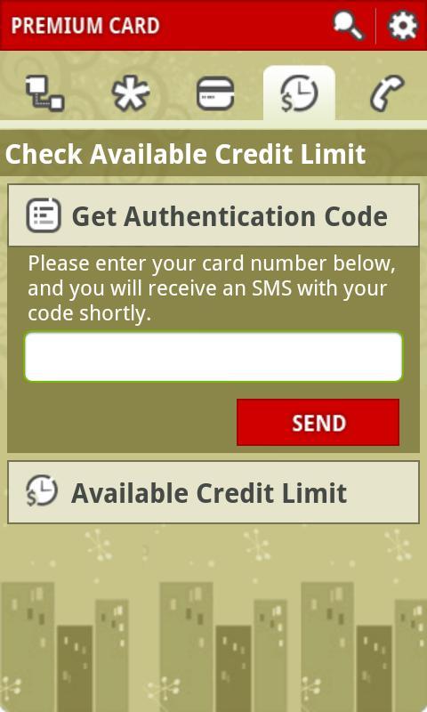 Premium Card- screenshot