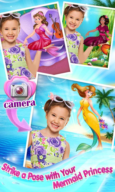 Mermaid Princess Makeover Game- screenshot