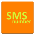 SMS number. icon