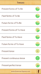 Grammar Express : Tenses - screenshot thumbnail