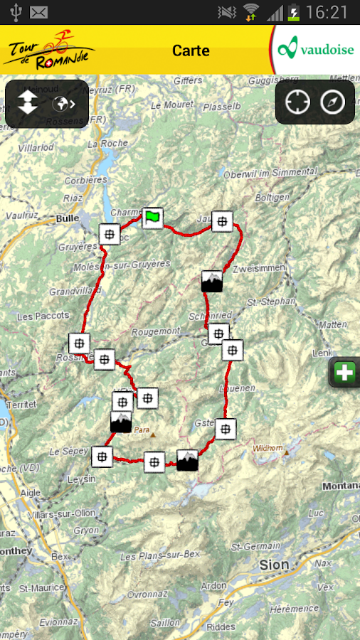 Tour de Romandie - screenshot