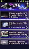 Screenshot of UFO Videos