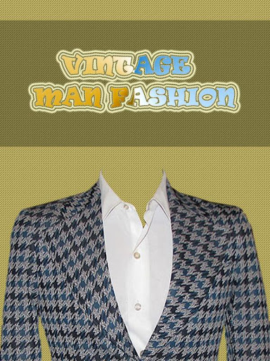 Vintage Man Fashion - 1970