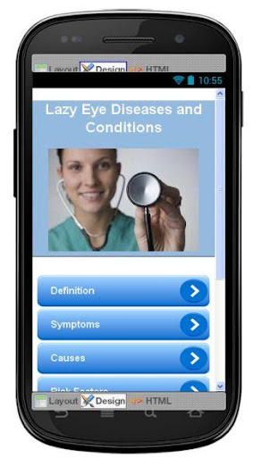 Lazy Eye Disease Symptoms