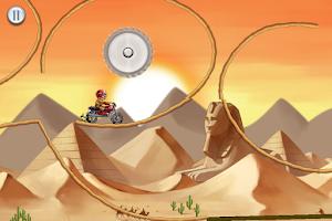 Screenshot of Mad Moto Racing: Stunt Bike