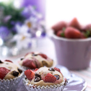 Gluten-Free Strawberry Chocolate Chip Muffins