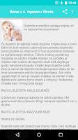 Screenshot of Trudnoća i razvoj bebe