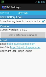 BS Battery+ - screenshot thumbnail
