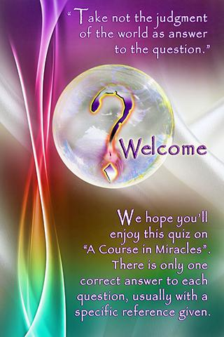 ACIM Quiz - screenshot