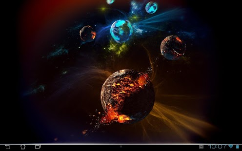 Deep Space 3D Pro lwp Screenshot 11