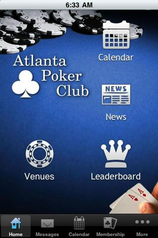 Atlanta Poker Club - screenshot