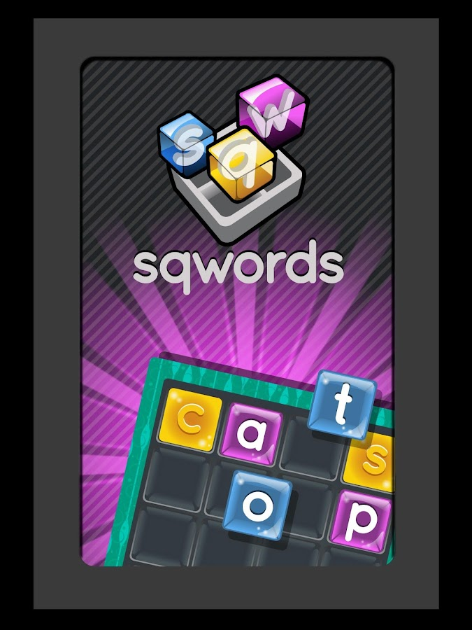 Sqwords - screenshot