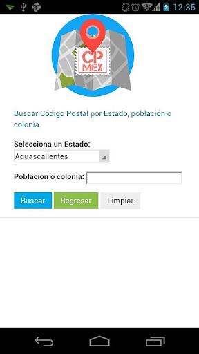CPmex: Código Postal Mexicano