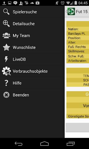 FUT 15 Ultimate Team App