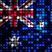 LED Australia Flag Wallpaper