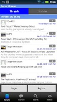 Screenshot of Focus ST Forum