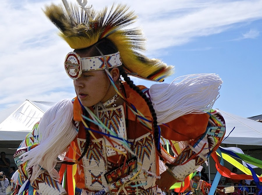 Pow Wow Pride by Barbara Brock - News & Events US Events ( dancing, costumes, american indian, pow wow, native american,  )